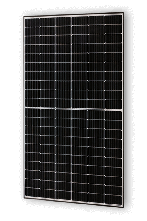 Frontalansicht des ASWS Solarmoduls Strong Style